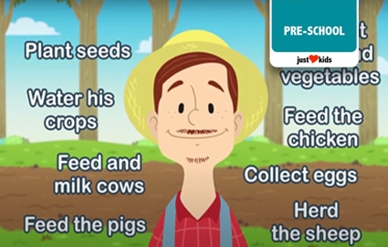 Pop Babies | What Does A Farmer Do? Image Thumbnail