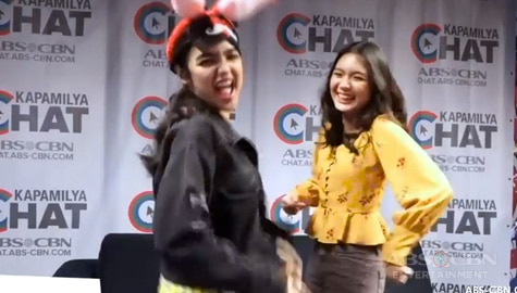 SayawOne Minute Challenge with Andrea and Francine Image Thumbnail
