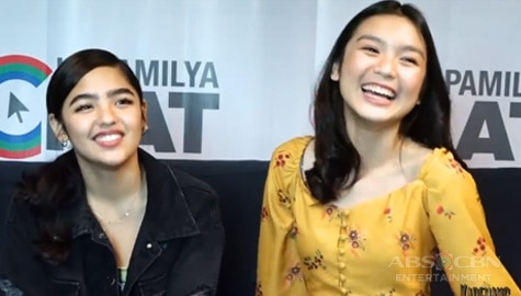 Andrea Brillantes and Francine Diaz on working with and learning from the veterans