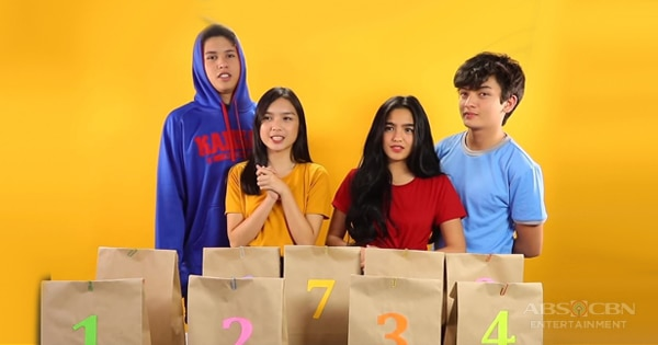 WATCH: Kycine and Sethdrea take on the Eat It or Wear It Challenge | The Gold Squad