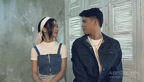 "WATCH: ""Pangako"" Music Video by Kyle Echarri with Francine Diaz 