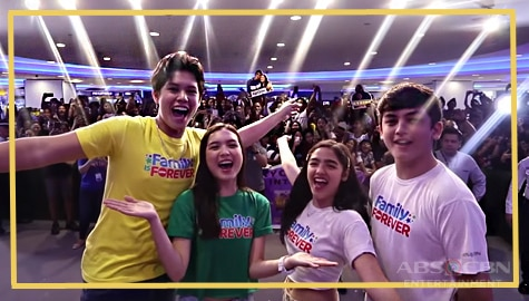 "Watch: Mall Day para sa ""Family is Forever"" shirt 