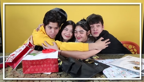 WATCH: The Gold Squad exchanges gifts and wishes for each other Image Thumbnail