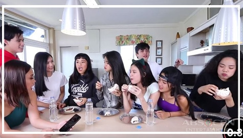 Fastest Eating Challenge with KG Squadmates   The Gold Squad Image Thumbnail