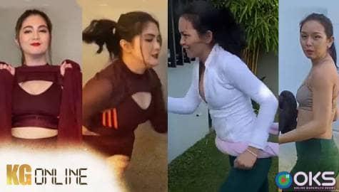 Romina at Daniela, nag-showdown sa kanilang home workout routine | Kadenang Ginto Online Image Thumbnail