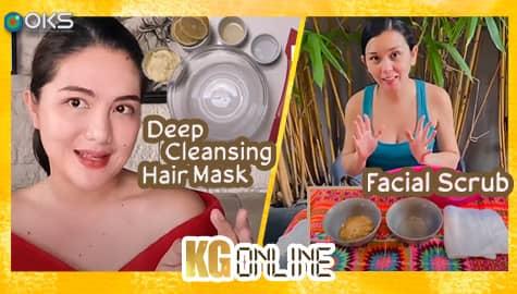 Daniela at Romina, nagpatalbugan sa kanilang homemade beauty tips | Kadenang Ginto Online Image Thumbnail