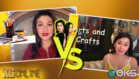 "EP.4: Who is more Artsy? Romina vs Daniela in ""Kathang Ginto"" | Kadenang Ginto Online - Online Kapamilya Shows Image Thumbnail"