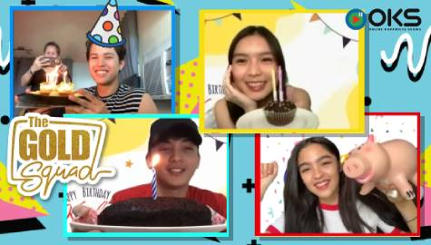 SURPRISE! Kyle Echarri's 17th Birthday with The Gold Squad | Online Kapamilya Shows