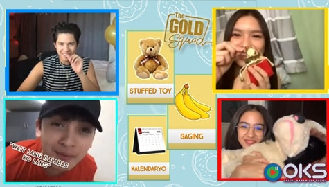 BRING ME! Kyle Echarri's Birthday with The Gold Squad - Online Kapamilya Show