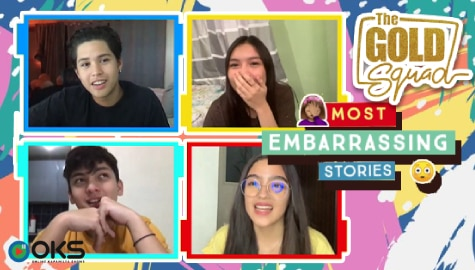 OMG! The Gold Squad shares their most embarrassing and awkward moments | Online Kapamilya Shows Image Thumbnail