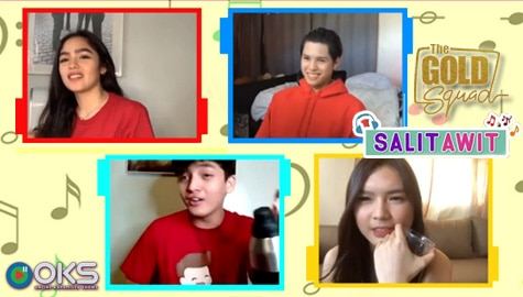 SALITAWIT! Song Association Game with The Gold Squad | Online Kapamilya Shows Image Thumbnail