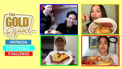 Hotsilog Cooking Challenge with The Gold Squad | Online Kapamilya Shows