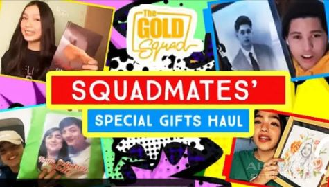 HAUL TIME! The Gold Squad shares special gifts from their loving fans | Online Kapamilya Shows