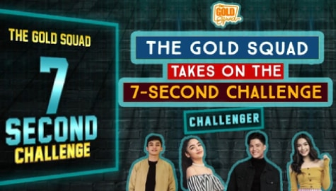 WATCH: The Gold Squad takes on the 7-Second Challenge