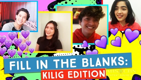 The Kilig Edition! Fill in the Blanks with The Gold Squad Image Thumbnail
