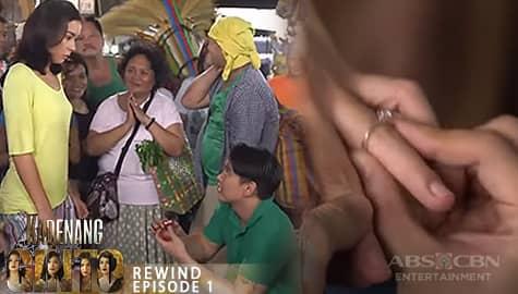 Kadenang Ginto: Ang kakaibang wedding proposal ni Carlos kay Romina | Episode 1 Image Thumbnail