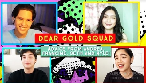 Dear Gold Squad: Advice from Andrea, Francine, Seth and Kyle  Image Thumbnail