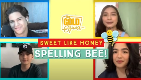 WATCH: The Gold Squad takes on the 'kilig' spelling bee challenge Image Thumbnail