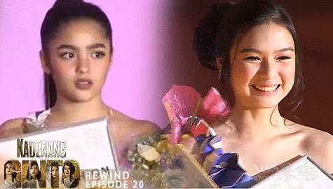 Kadenang Ginto: Cassie, tinalo si Marga sa Eco Fashion Show | Episode 20 Image Thumbnail