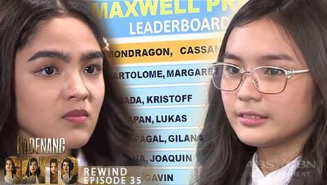 Kadenang Ginto: Marga, nagalit nang manguna sa ranking si Cassie   Episode 35 Image Thumbnail