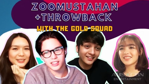 WATCH: Zoomustahan Throwback with The Gold Squad Image Thumbnail