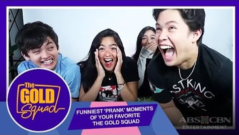 WATCH: Funniest 'Prank' Moments of KyCine and SethDrea | The Gold Squad Image Thumbnail