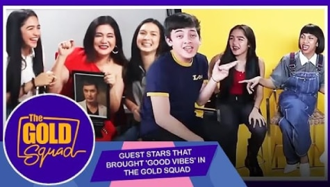 WATCH: Guest Stars that brought good vibes in The Gold Squad Image Thumbnail