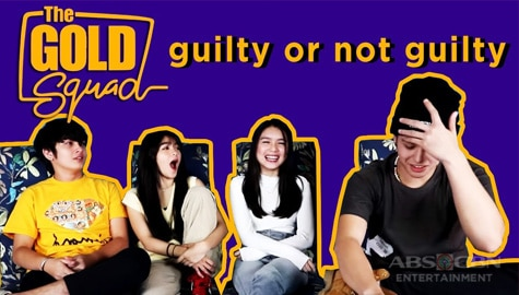 WATCH: Guilty or Not Guilty Challenge with The Gold Squad Image Thumbnail