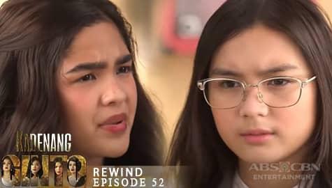 Kadenang Ginto: Cassie, sinubukan tulungan sa problema si Marga | Episode 52   Image Thumbnail