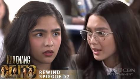 Kadenang Ginto: Marga, naipit sa kanyang plano kay Cassie | Episode 52 Image Thumbnail