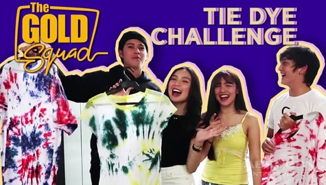 WATCH: Tie Dye Challenge with the Gold Squad Image Thumbnail