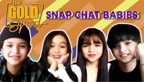 WATCH: The Gold Squad takes on the Snapchat baby challenge Image Thumbnail