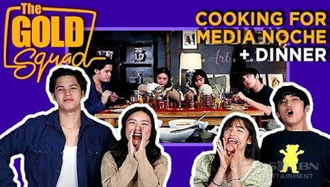 WATCH: Preparing Media Noche + Dinner Party with The Gold Squad Image Thumbnail