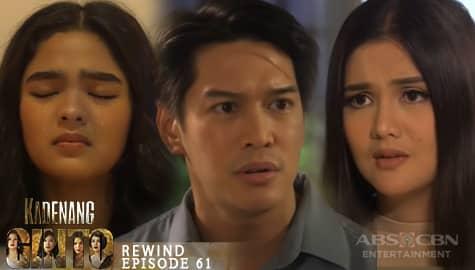 Kadenang Ginto: Marga, muling naluha sa pag-aaway ng kanyang magulang | Episode 61 Image Thumbnail
