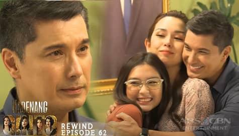 Kadenang Ginto: Robert, nakaramdam ng takot para kay Cassie | Episode 62    Image Thumbnail