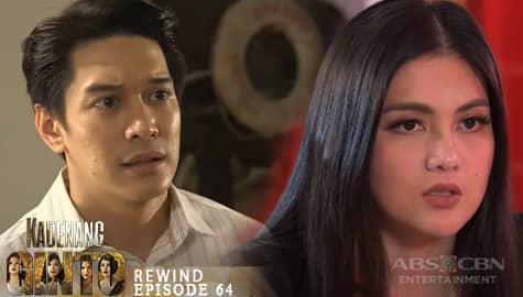 Kadenang Ginto: Carlos, ipinaalam kay Daniela ang pagtatanong ni Cassie | Episode 64 Image Thumbnail