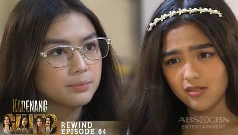 Kadenang Ginto: Marga, pinaalalahanan si Cassie sa kanyang pagsisinungaling | Episode 64 Image Thumbnail
