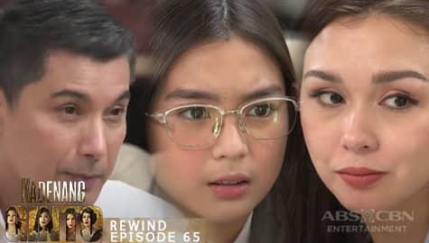 Kadenang Ginto: Cassie, nagtaka sa biglaan planong pag alis ng kanyang mga magulang | Episode 65 Image Thumbnail