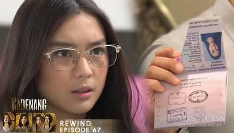 Kadenang Ginto: Cassie, nagulat nang makitang punit ang kanyang passport | Episode 67 Image Thumbnail