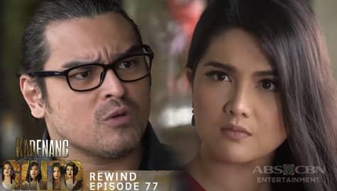 Kadenang Ginto: Daniela, kinompronta si Alvin sa pagkidnap kina Cassie at Marga | Episode 77 Image Thumbnail