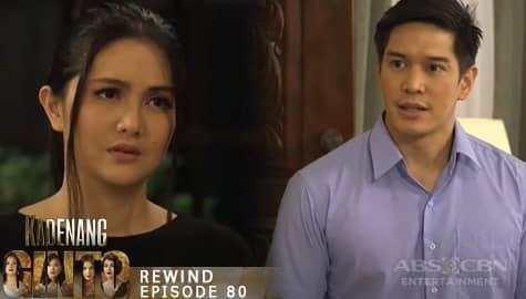 Kadenang Ginto: Carlos, kinompronta si Daniela sa pagkawala ng kanilang pera | Episode 80 Image Thumbnail