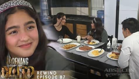 Kadenang Ginto: Marga, masaya sa pag-aayos ng kanyang magulang | Episode 87 Image Thumbnail