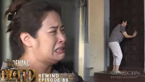 Kadenang Ginto: Myrna, muling pinalayas ng kaniyang pamilya | Episode 89 Image Thumbnail