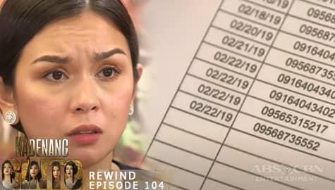 Kadenang Ginto: Romina, nagtaka sa huling pag-uusap nina Daniela at Robert   Episode 104 Thumbnail