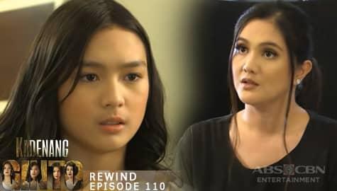 Kadenang Ginto: Daniela, pinalipat sa maid's quarters si Cassie | Episode 110  Image Thumbnail