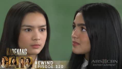 Kadenang Ginto: Cassie, ipinagtanggol ang kaniyang Ina sa paratang ni Marga | Episode 120 Image Thumbnail