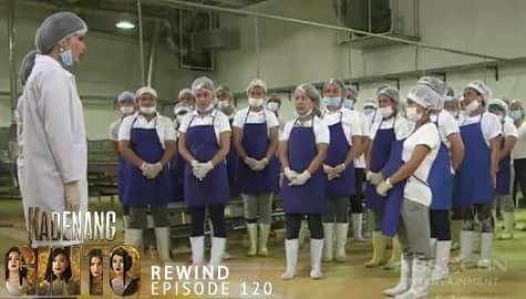Kadenang Ginto: Daniela, tinanggal ang lahat ng empleyado sa factory | Episode 120 Image Thumbnail