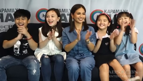 Kapamilya Chat with Kaye Abad, Sofia Reola, Heart Ramos, Miguel Vergara and Krystal Mejes