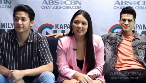 Kapamilya Chat with Vin Abrenica, Ria Atayde and Karl Gabriel for Ipaglaban Mo Gayuma Image Thumbnail