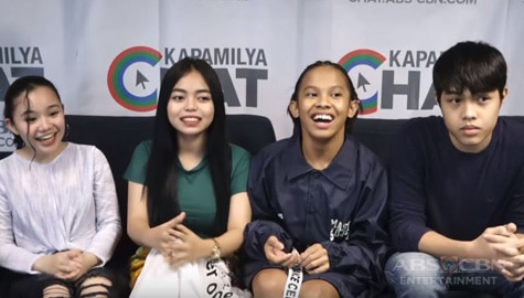 Kapamilya Chat with Awra, Amy, Nicole and Elijah for Past Present Perfect Image Thumbnail